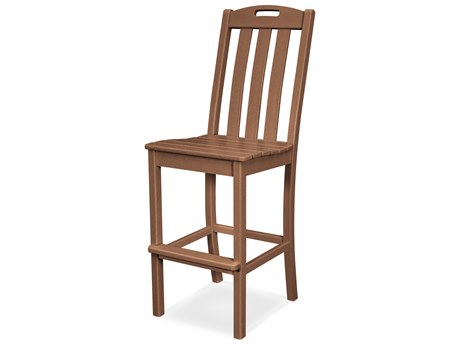 Trex Outdoor Furniture Yacht Club Bar Side Chair in Tree House