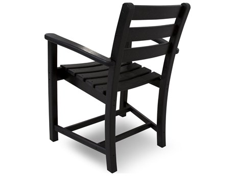 Trex® Monterey Bay Recycled Plastic Dining Arm Chair