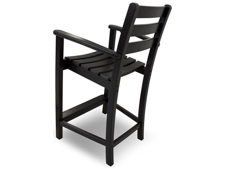 Trex® Monterey Bay Recycled Plastic Counter Arm Chair