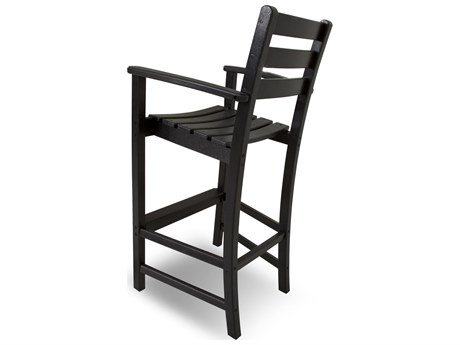 Trex® Monterey Bay Recycled Plastic Bar Arm Chair