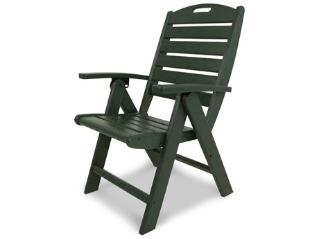 Trex® Outdoor Furniture Yacht Club Highback Chair in Rainforest Canopy