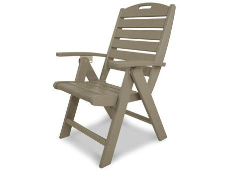 Trex® Outdoor Furniture Yacht Club Highback Chair in Sand Castle