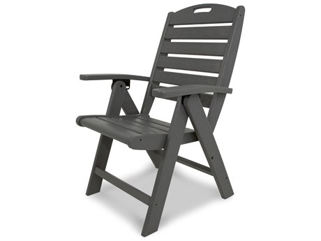 Trex® Outdoor Furniture Yacht Club Highback Chair in Stepping Stone
