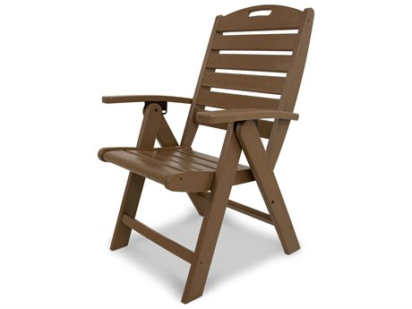 Trex® Outdoor Furniture Yacht Club Highback Chair in Tree House