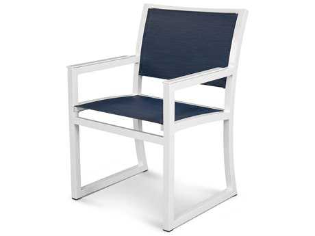 Trex® Parsons Recycled Plastic Cube Dining Arm Chair