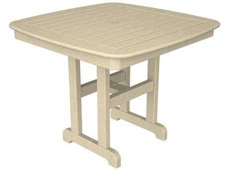 Trex® Yacht Club Recycled Plastic 37 Square Dining Table