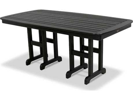 Trex® Yacht Club Recycled Plastic 72 x 37 Rectangular Dining Table TRXTXNCT3772