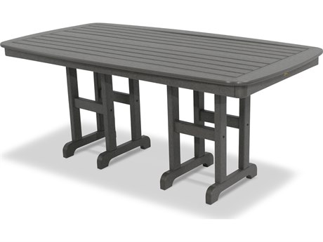 Trex® Outdoor Furniture Yacht Club 37'' x 72'' Dining Table in Stepping Stone