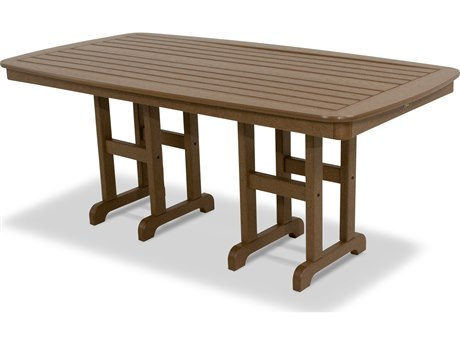 Trex® Outdoor Furniture Yacht Club 37'' x 72'' Dining Table in Tree House