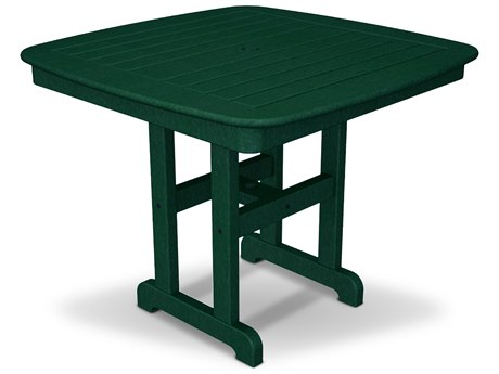 Trex® Outdoor Furniture Yacht Club 37'' Dining Table in Rainforest Canopy