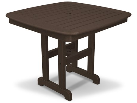 Trex® Outdoor Furniture Yacht Club 37'' Dining Table in Vintage Lantern