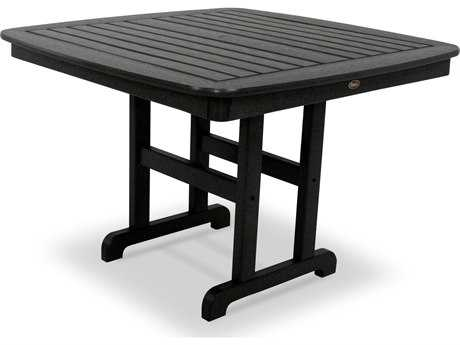 Trex® Yacht Club Recycled Plastic 44 Square Dining Table TRXTXNCT44