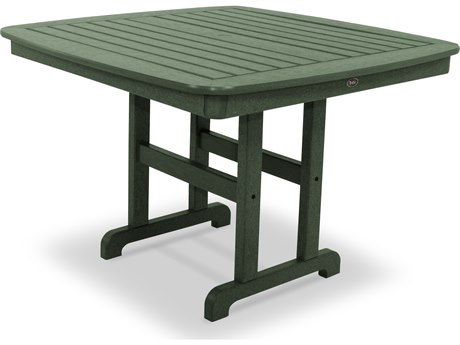 Trex® Outdoor Furniture Yacht Club 44'' Dining Table in Rainforest Canopy
