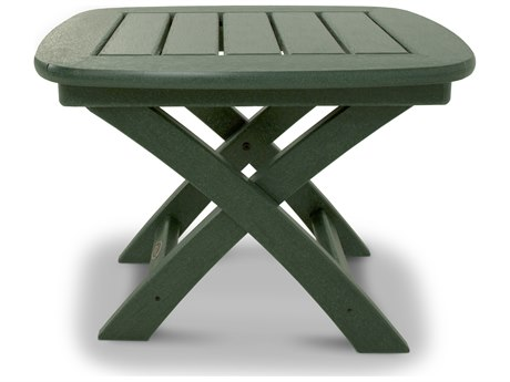 Trex® Outdoor Furniture Yacht Club 21'' x 18'' Side Table in Rainforest Canopy