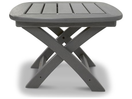 Trex® Outdoor Furniture Yacht Club 21'' x 18'' Side Table in Stepping Stone