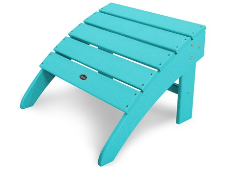 Trex® Outdoor Furniture Yacht Club Ottoman in Aruba