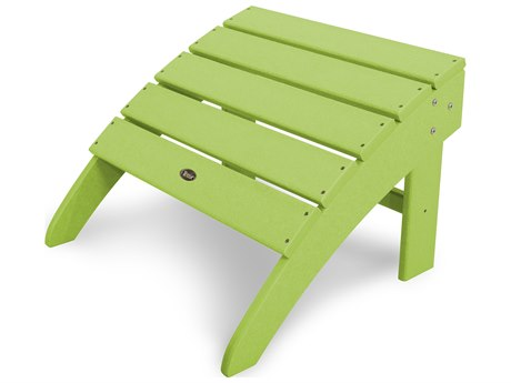Trex® Outdoor Furniture Yacht Club Ottoman in Lime