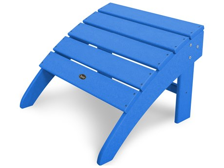 Trex® Outdoor Furniture Yacht Club Ottoman in Pacific Blue