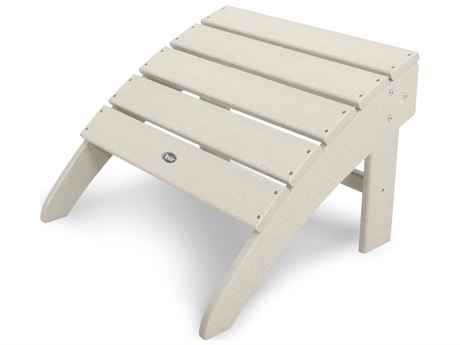 Trex® Outdoor Furniture Yacht Club Ottoman in Sand Castle