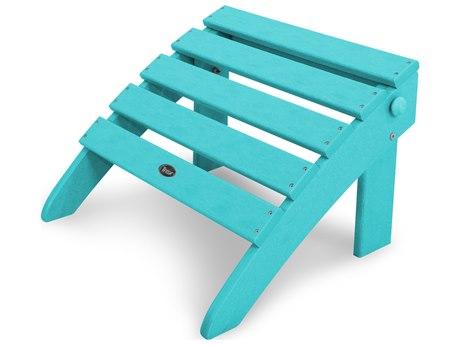 Trex® Outdoor Furniture Cape Cod Folding Ottoman in Aruba