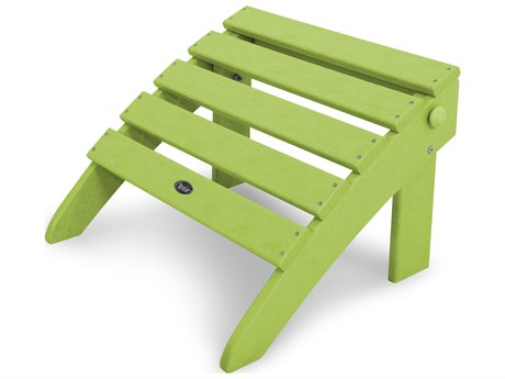 Trex® Outdoor Furniture Cape Cod Folding Ottoman in Lime