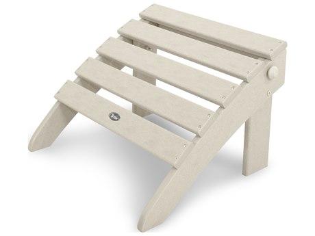Trex® Outdoor Furniture Cape Cod Folding Ottoman in Sand Castle