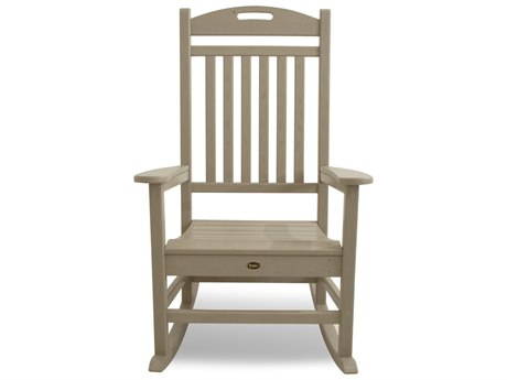 Trex® Outdoor Furniture Yacht Club Rocking Chair in Sand Castle
