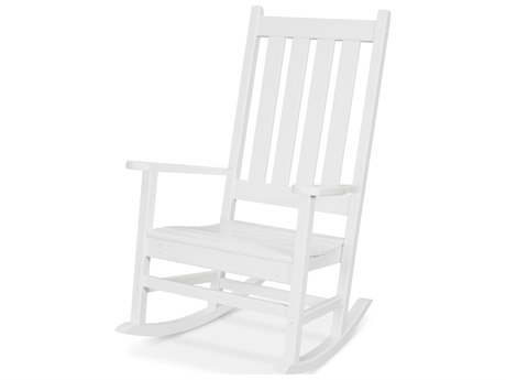 Trex Outdoor Furniture Cape Cod Porch Rocking Chair in Classic White