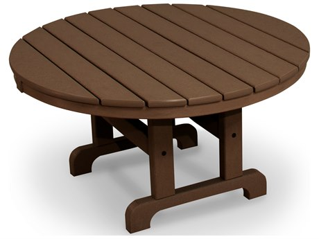 Trex® Outdoor Furniture Cape Cod Round 36'' Conversation Table in Tree House