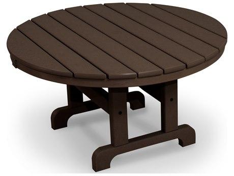 Trex® Outdoor Furniture Cape Cod Round 36'' Conversation Table in Vintage Lantern
