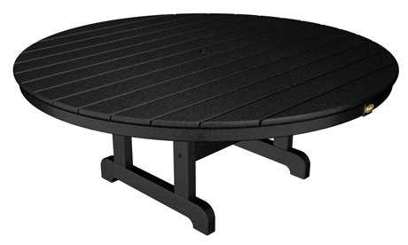 Trex® Cape Cod Recycled Plastic 48 Round Conversation Table