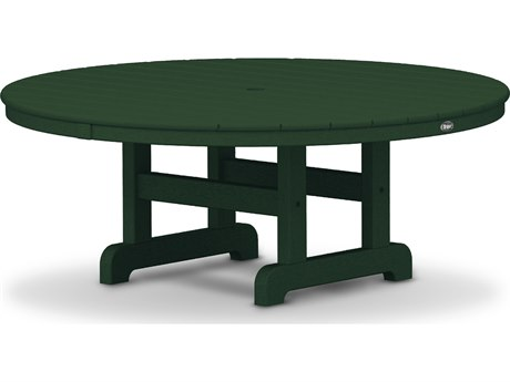 Trex® Outdoor Furniture Cape Cod Round 48'' Conversation Table in Rainforest Canopy