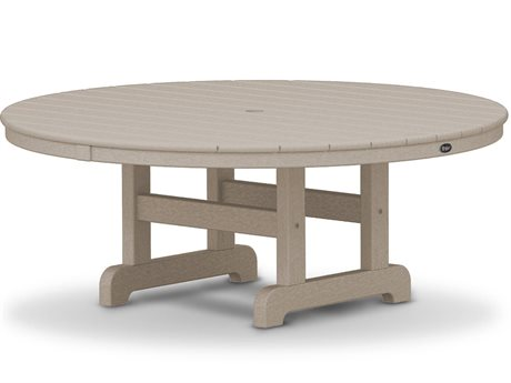Trex® Outdoor Furniture Cape Cod Round 48'' Conversation Table in Sand Castle