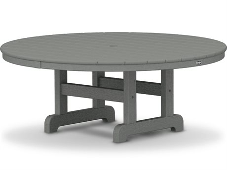 Trex® Outdoor Furniture Cape Cod Round 48'' Conversation Table in Stepping Stone
