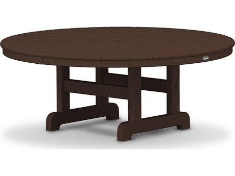 Trex® Outdoor Furniture Cape Cod Round 48'' Conversation Table in Vintage Lantern