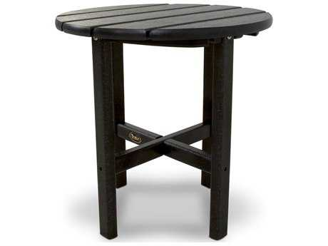 Trex® Cape Cod Recycled Plastic 18 Round Side Table TRXTXRST18