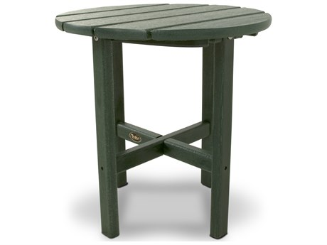 Trex® Outdoor Furniture Cape Cod Round 18'' Side Table in Rainforest Canopy