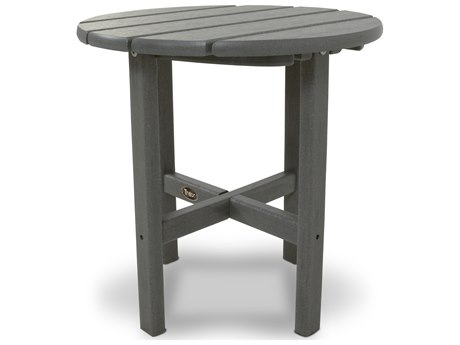 Trex® Outdoor Furniture Cape Cod Round 18'' Side Table in Stepping Stone