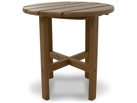 Trex® Outdoor Furniture Cape Cod Round 18'' Side Table in Tree House