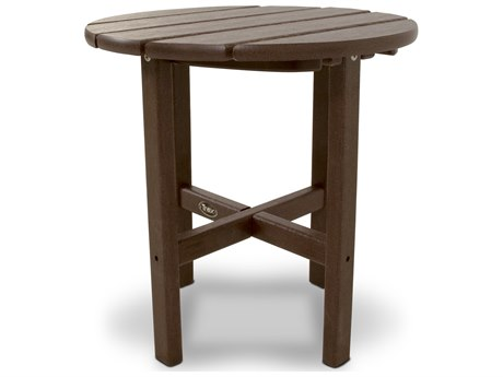 Trex® Outdoor Furniture Cape Cod Round 18'' Side Table in Vintage Lantern