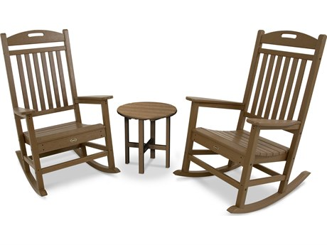 Trex® Outdoor Furniture Yacht Club Rocker 3-Piece Set in Tree House