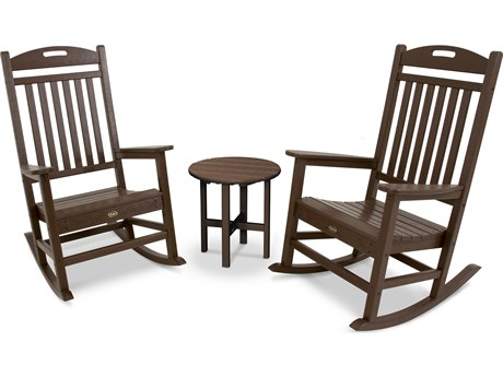 Trex® Outdoor Furniture Yacht Club Rocker 3-Piece Set in Vintage Lantern