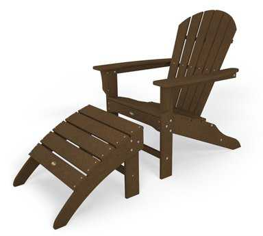 Trex® Cape Cod Recycled Plastic 2-Piece Adirondack Set