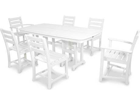 Trex® Monterey Bay Recycled Plastic 7-Piece Dining Set TRXTXS1181