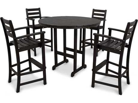 Trex® Monterey Bay Recycled Plastic 5-Piece Bar Set TRXTXS1191