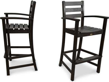 Trex® Monterey Bay Recycled Plastic 2-Piece Bar Chair Set TRXTXS1201