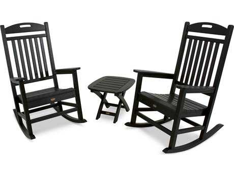 Trex® Yacht Club Recycled Plastic 3-Piece Rocker Set TRXTXS1211