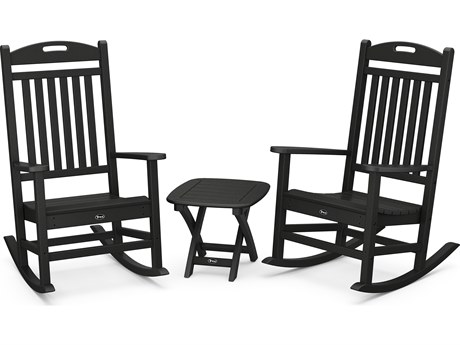 Trex® Outdoor Furniture™ Yacht Club Recycled Plastic 3 Piece Lounge Set