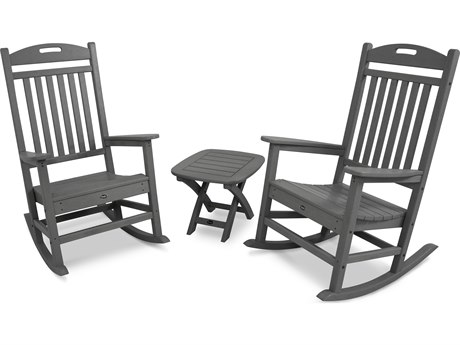 Trex® Outdoor Furniture Yacht Club 3-Piece Rocker Set in Stepping Stone