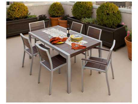 Trex® Surf City Recycled Plastic 7-Piece Dining Set
